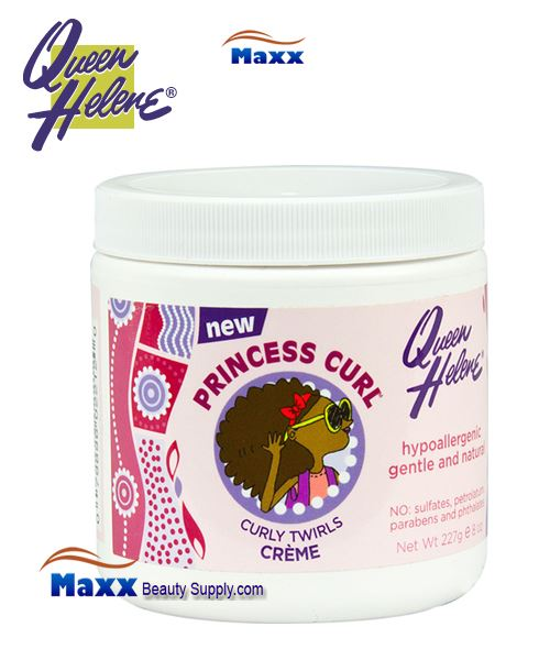 Queen Helene Princess Curl Silky Twirls Cream 8oz