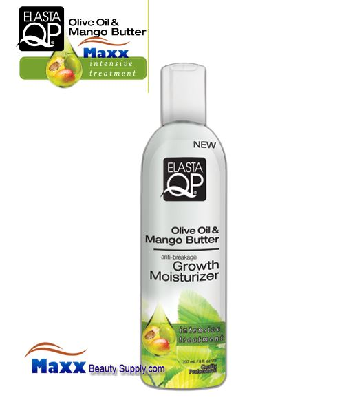 Elasta QP Olive Oil & Mango Butter Growth Moisturizer 8oz - Bottle