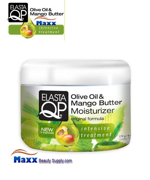 Elasta QP Olive Oil & Mango Butter Hair Moisturizer 6oz - Jar