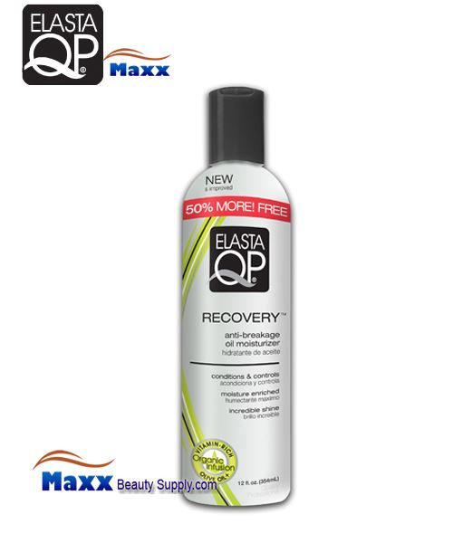 Elasta QP Recovery Oil Moisturizer 12oz - Bottle