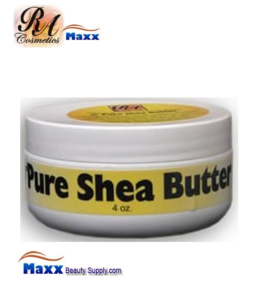 RA Cosmetics 100% Pure Shea Butter Unscent 4oz - Jar