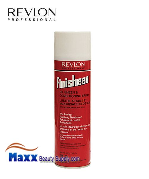 Revlon Finisheen Oil Sheen & Conditioning Spray 17oz