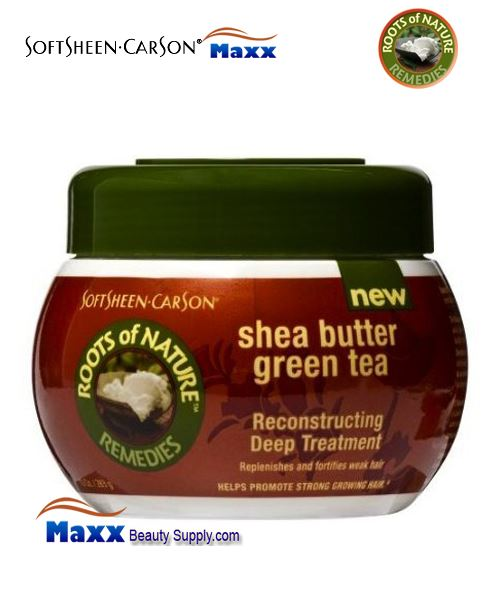 Roots Of Nature Reconstructing Deep Treatment With Green Tea and Shea Butter 10oz