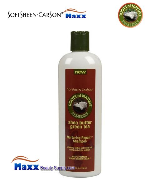 Roots Of Nature Nurturing Repair Shampoo With Green Tea and Shea Butter 10oz