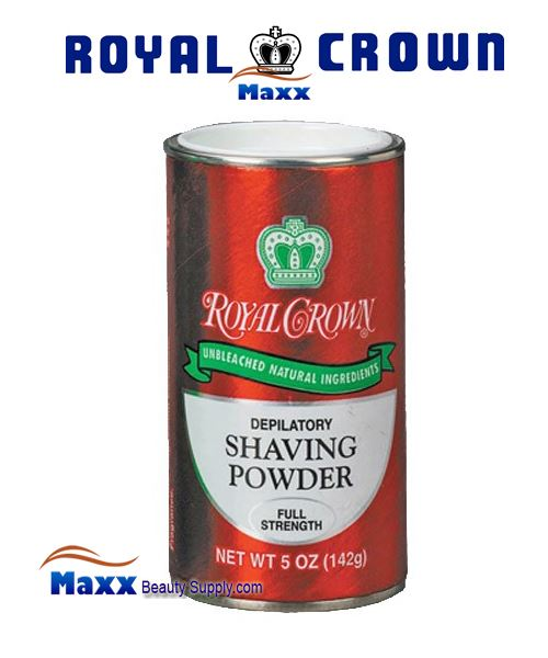 Royal Crown Shaving Powder Full Strength 5oz - Red