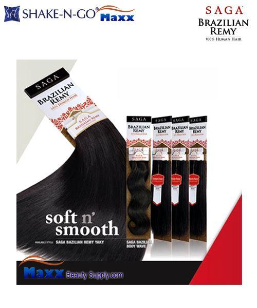 Saga Brazilian Remy Hair Care 118