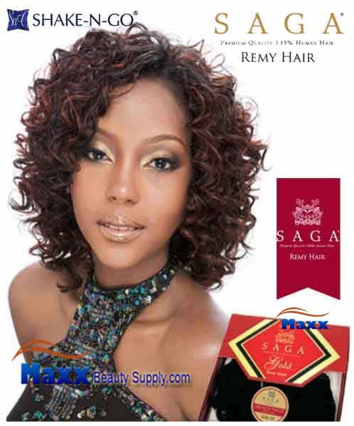 MilkyWay Saga Gold Remy 100% Human Hair Weave - New Deep Remy 3pcs