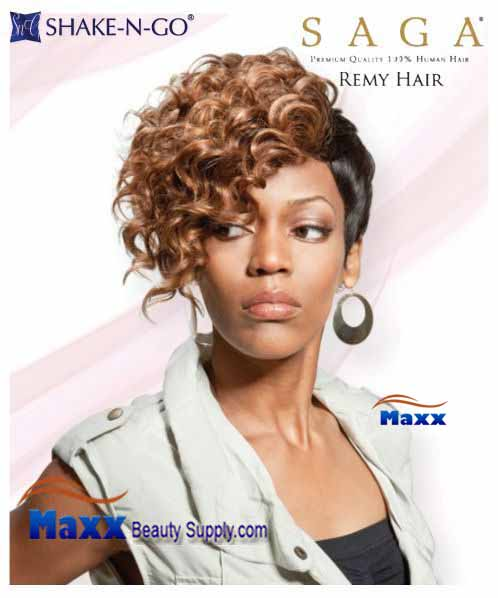 Remy Saga Gold Human Hair Triple Weft Hair Extensions