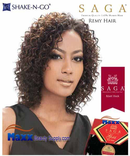 MilkyWay Saga Gold Remy 100% Human Hair Weave - Water Deep Remy 3pcs