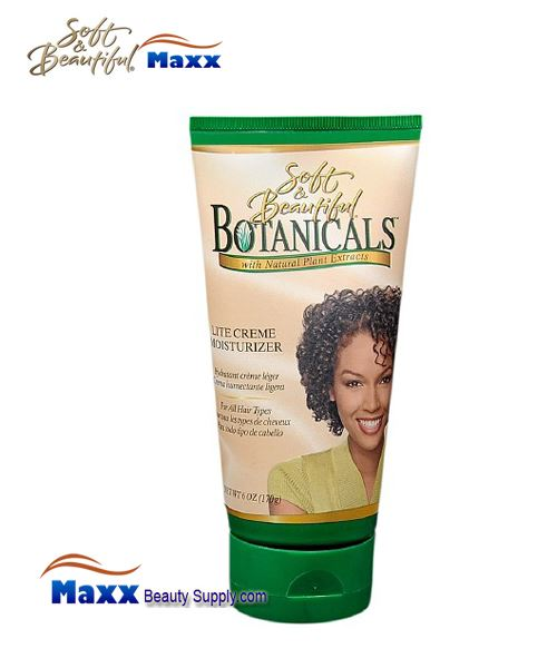 Soft & Beautiful Botanicals Lite Creme Moisturizer 6oz - Tube