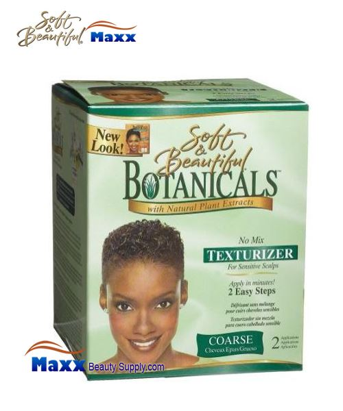 Soft & Beautiful Botanicals No Mix Texturizer Kit - Coarse