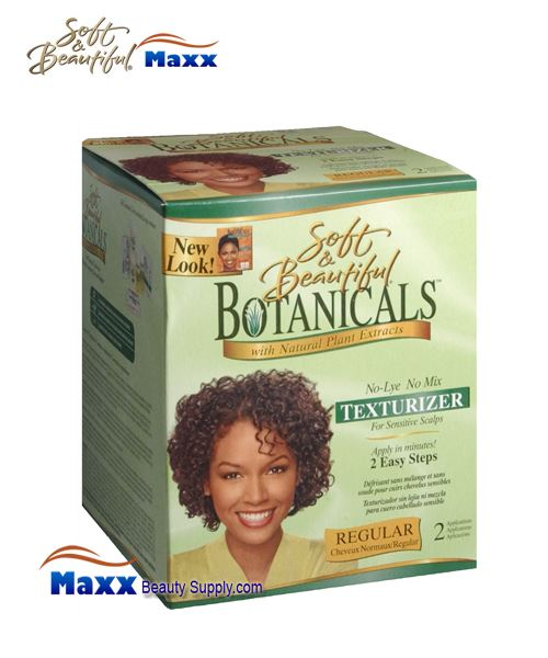 Soft & Beautiful Botanicals No Mix Texturizer Kit - Regular