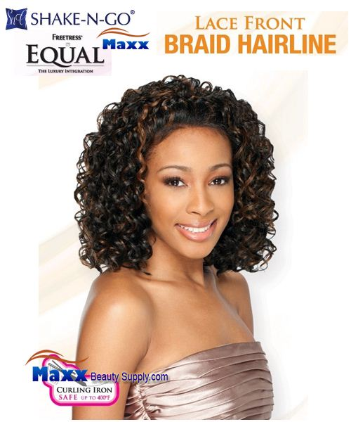 Freetress Equal Synthetic Lace Front Wig Braid Hairline - Allison