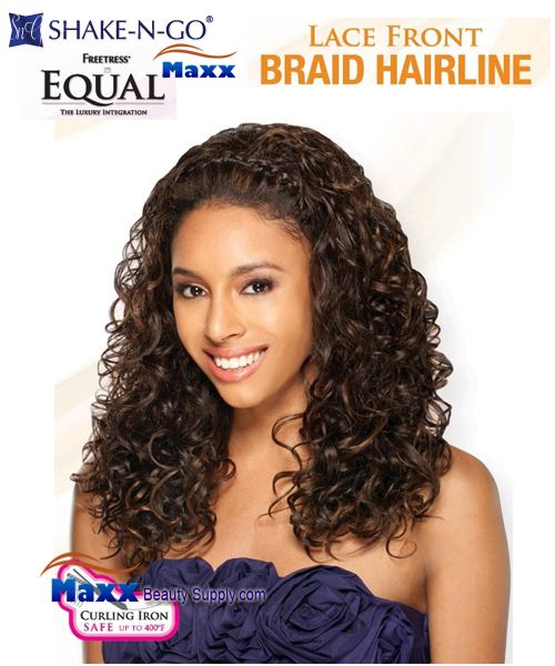Freetress Equal Synthetic Lace Front Wig Braid Hairline - Lia