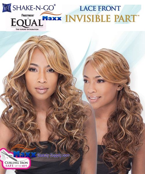 Freetress Equal Syntethic Invisible Part Lace Front Wig – Vanessa