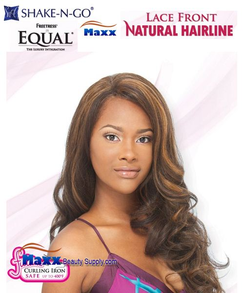 Freetress Equal Synthetic Lace Front Wig Natural Hairline - Gena