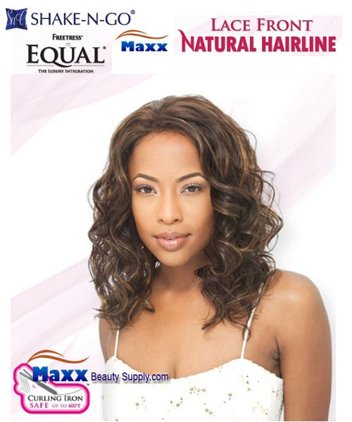 Freetress Equal Synthetic Lace Front Wig Natural Hairline - Glenn