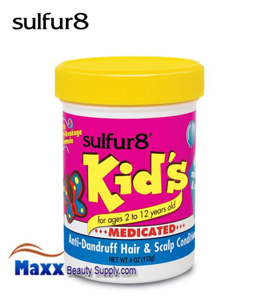 Sulfur8 Kids Hair & Scalp Conditioner for Children 4oz