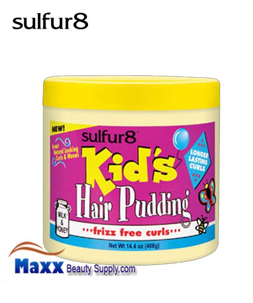 Sulfur8 Kids Hair Pudding frixx free curls 14.4oz