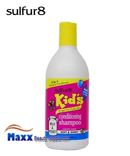Sulfur8 Kids Milk & Honey 2 IN 1 Conditioning Shampoo 13.5oz
