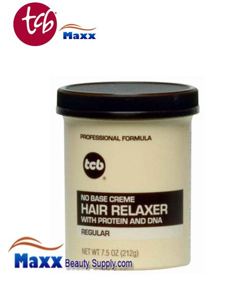 TCB No Base Cream Hair Relaxer 7.5oz Jar - Regular