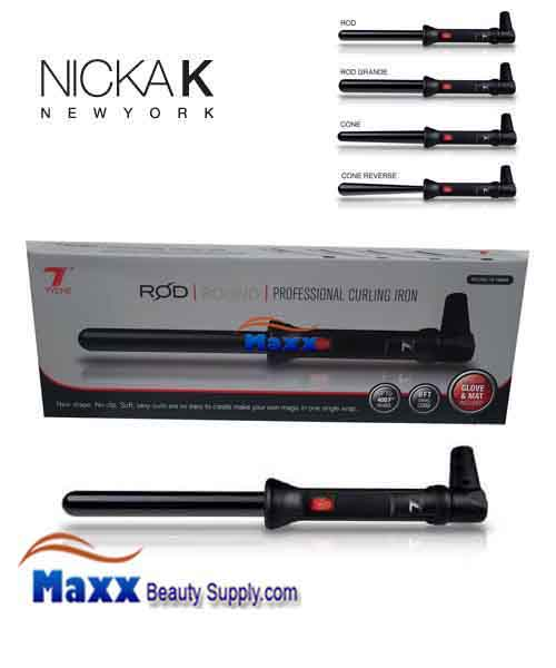 Nicka K Tyche ROD Professional Curling Iron - ROUND 19-19mm