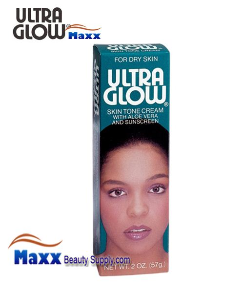 Ultra Glow Skin Tone Cream w/ Sunscreen 2oz - Dry Skin