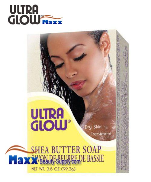 Ultra Glow Soap Shea Butter 3.5 OZ