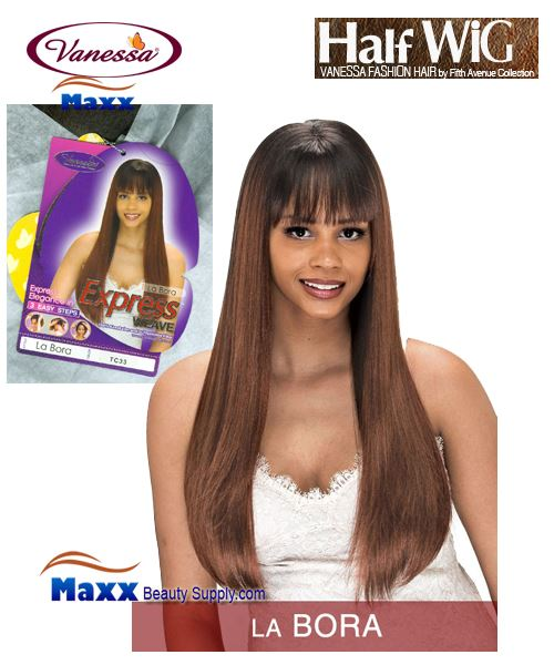 Vanessa Fifth Avenue Collection Half Wig - La Bora