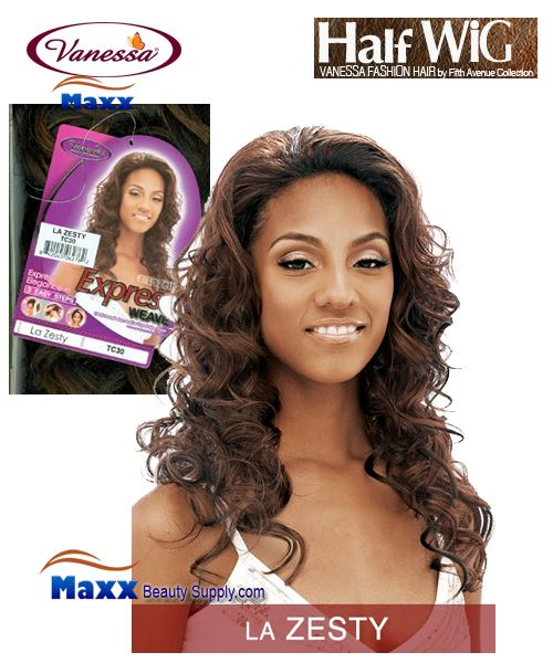 Vanessa Fifth Avenue Collection Half Wig - La Zesty