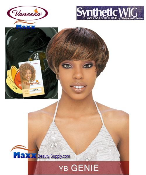 Vanessa Synthetic Hair Fashion Wig - Genie
