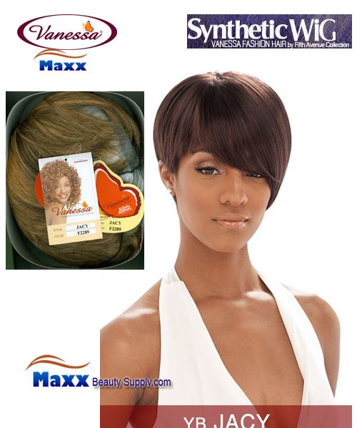 Vanessa Synthetic Hair Fashion Wig - Jacy