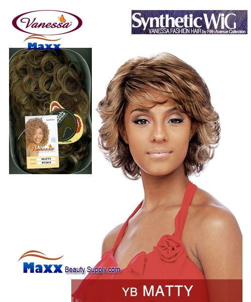 Vanessa Synthetic Hair Fashion Wig - Matty