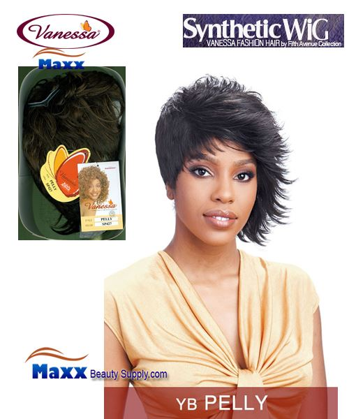 Vanessa Synthetic Hair Fashion Wig - Pelly