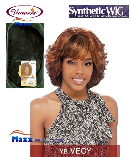 Vanessa Synthetic Hair Fashion Wig - Vecy