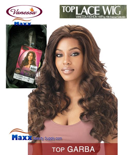 Vanessa Top Lace Front Synthetic Hair Wig - Top Garba