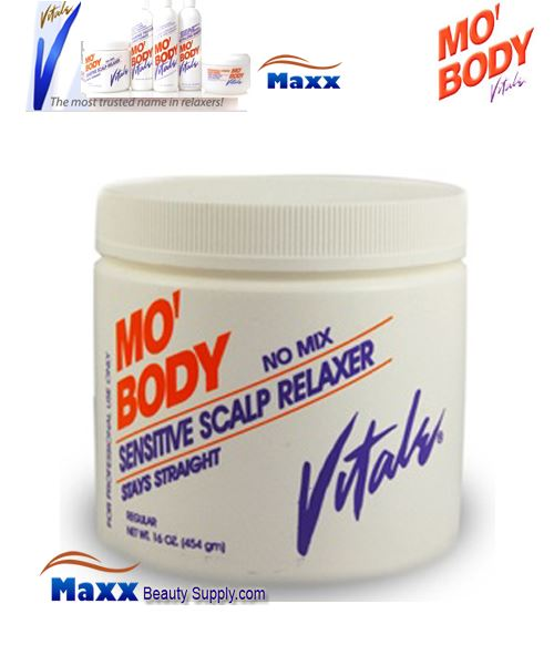 Vitale Mo Body Sensitive Scalp Relaxer 16oz - Jar