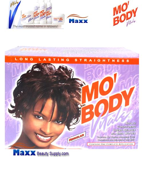 Vitale Mo Body No-Lye Relaxer Kit 1 App - Regular