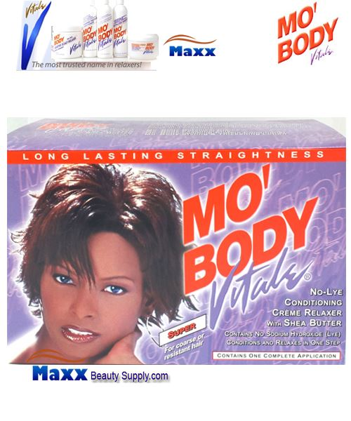 Vitale Mo Body No-Lye Relaxer Kit 1 App - Super