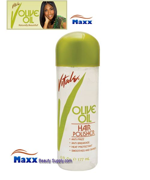 Vitale Olive Oil Hair Polisher 6oz - Bottle