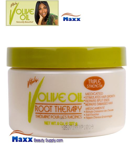 Vitale Olive Oil Root Therapy 8oz - Jar
