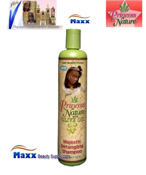 Vitale Princess by Nature Olive Oil Majestic Detangling Shampoo 12oz