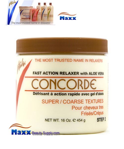 Vitale Relaxer Concorde with Aloe Vera 16oz - Super