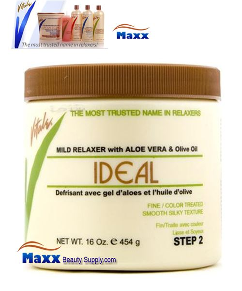 Vitale Relaxer IDEAL for Fine Color Treated Hair 16oz - Mild