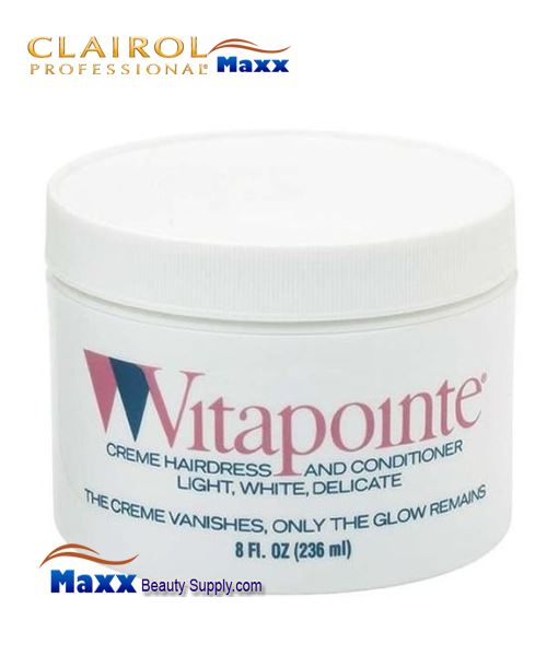 Clairol Vitapointe Creme Hairdress and Conditioner 8oz - Jar