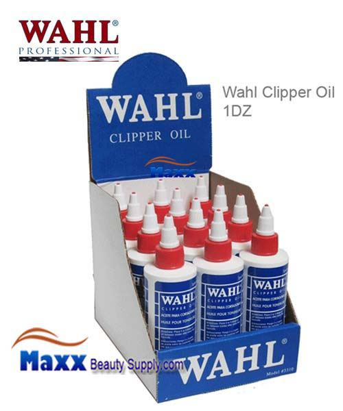 Wahl Clipper Oil 4OZ 1DZ