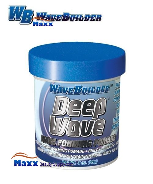 Spartan Wave Builder Deep Wave Wave Forming Pomade 3oz - Jar