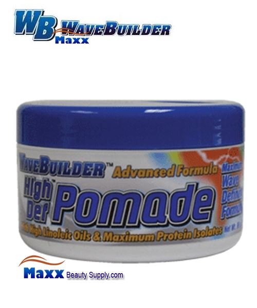 Spartan Wave Builder Advanced Formula High Def Pomade 3oz - Jar