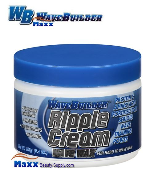 Spartan Wave Builder Ripple Cream Wave Wax 5.4oz - Jar