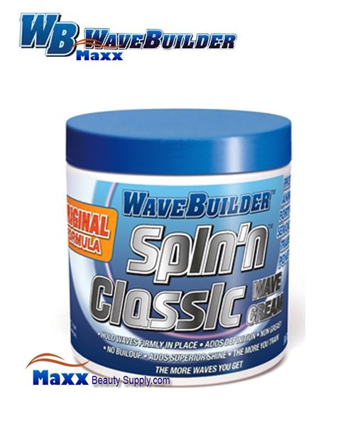 Spartan Wave Builder Spin'n Classic Wave Cream 8oz - Jar